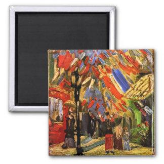 Van Gogh - 14to de la celebración de julio en Iman De Nevera