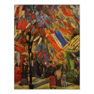 Van Gogh; 14to de la celebración de julio en París Comunicados Personales