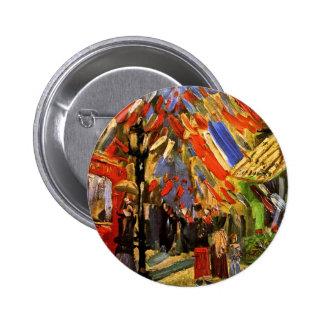Van Gogh - 14to de la celebración de julio en Pin