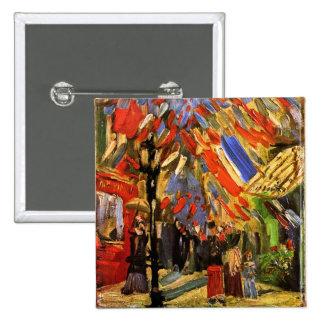 Van Gogh - 14to de la celebración de julio en Pins