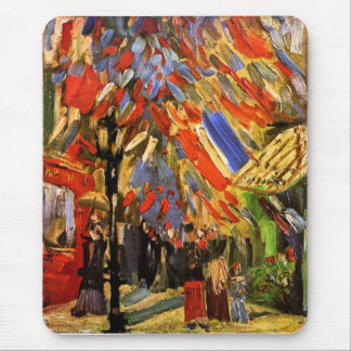 Van Gogh - 14to de la celebración de julio en Alfombrillas De Ratón