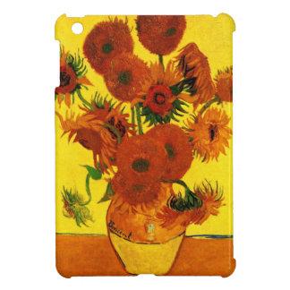 Van Gogh 15 Sunflowers iPad Mini Cover