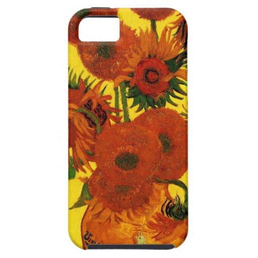 Van Gogh 15 Sunflowers iPhone 5 Cover