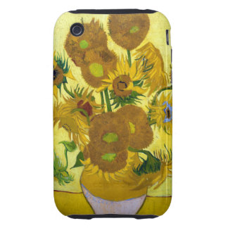 Van Gogh 15 Sunflowers Tough iPhone 3 Cover