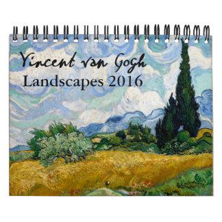 Van Gogh 2016 Landscape Calendar