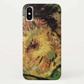 Van Gogh 2 Cut Sunflowers, Vintage Floral Fine Art iPhone X Case