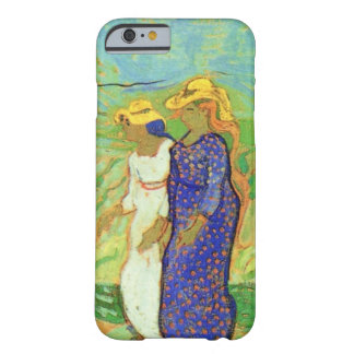 Van Gogh, 2 Women Crossing Fields, Vintage Friends Barely There iPhone 6 Case