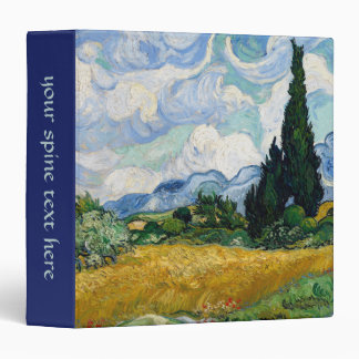 Van Gogh 3 Ring Binder
