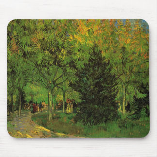 Van Gogh A Lane in the Public Garden at Arles Mouse Pad