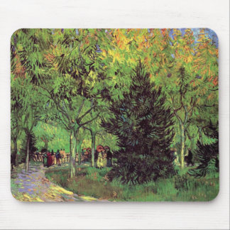 Van Gogh - A Lane In The Public Garden At Arles Mouse Pad