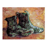 Van Gogh - A Pair Of Shoes Post Card