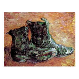 Van Gogh - A Pair Of Shoes Post Card