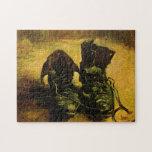 Van Gogh A Pair of Shoes, Vintage Still Life Art Puzzle