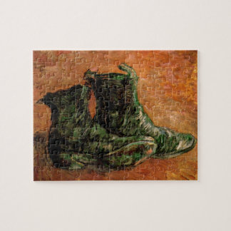 Van Gogh, A Pair of Shoes, Vintage Still Life Jigsaw Puzzle