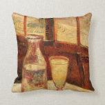 Van Gogh Absinthe Vintage Impressionism Still Life Pillows