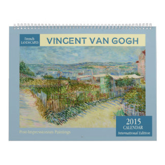 Van Gogh ajardina el calendario de pared 2015