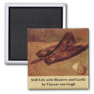 Van Gogh, ajo de los arenques ahumados, todavía Imán Cuadrado