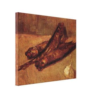 Van Gogh, ajo de los arenques ahumados, todavía Impresión En Tela