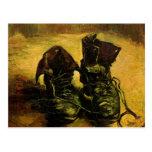 Van Gogh al par de zapatos, todavía del vintage Tarjeta Postal