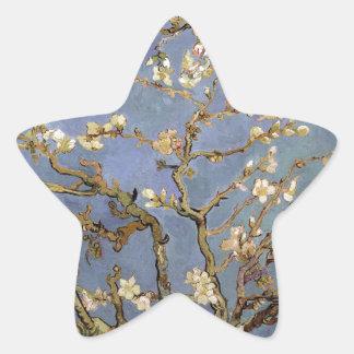 Van Gogh Almond Blossom Star Sticker