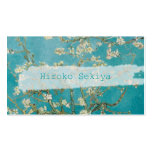 van gogh almond blossoms Double-Sided standard business cards (Pack of 100)