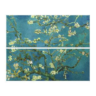 Van Gogh Almond Blossoms On Cloth Canvas Print