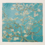 """Van Gogh, Almond Blossoms, Teal Blue at St. Remy Scarf<br><div class=""""desc"""">Van Gogh Almond Blossoms at St. Remy</div>"""