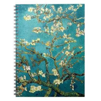 Van Gogh Almond Blossoms Tree Notebook