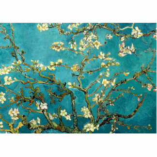 Van Gogh Almond Blossoms Tree Cut Out
