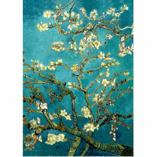 Van Gogh Almond Blossoms Tree Acrylic Cut Outs