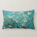 Van Gogh Almond Blossoms Tree Throw Pillows
