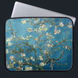 "Van Gogh Almond Blossoms Vintage Floral Blue Computer Sleeve<br><div class=""desc"">This is the oil painting &quot;Blossoming Almond Tree&quot; done in 1890 by Dutch post- impressionist artist Vincent Willem van Gogh (1853-1890).    It is our Fine Art Series no. 113. The source images for this series are original art created by lazyrivergreetings or vintage fine art and photography.</div>"