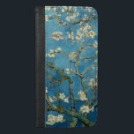 "Van Gogh Almond Blossoms Vintage Floral Blue iPhone 6/6s Plus Wallet Case<br><div class=""desc"">This is a detail from the oil painting &quot;Blossoming Almond Tree&quot; done in 1890 by Dutch post- impressionist artist Vincent Willem van Gogh (1853-1890).     It is our Fine Art Series no. 113. The source images for this series are original art created by lazyrivergreetings or vintage fine art or photography.</div>"
