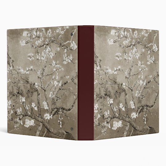 Van Gogh Almond Branches in Bloom 3 Ring Binder