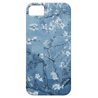 Van Gogh Almond Branches In Bloom (Blue) iPhone 5 Covers