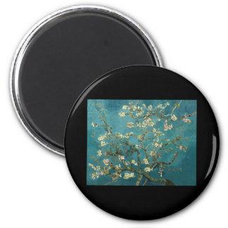 Van Gogh Almond Branches in Bloom Fridge Magnets