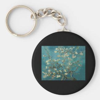 Van Gogh Almond Branches in Bloom Keychains