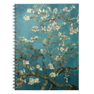 Van Gogh Almond Branches In Bloom Notebook