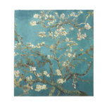 Van Gogh Almond Branches In Bloom Notepads