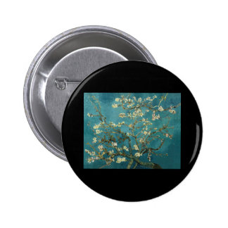 Van Gogh Almond Branches in Bloom Pinback Buttons