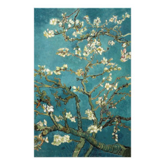 Van Gogh Almond Branches In Bloom Stationery
