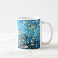 Van Gogh Almond Branches Post-Impressionism Coffee Mugs