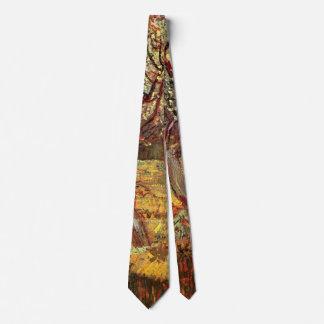 Van Gogh Apricot Tree in Blossom, Vintage Fine Art Neck Tie
