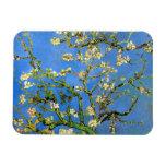 Van Gogh - árbol de almendra floreciente Imanes Flexibles