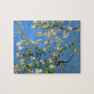 Van Gogh - árbol de almendra floreciente Rompecabezas