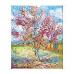 Van Gogh - árboles de melocotón rosados Lienzo Envuelto Para Galerias
