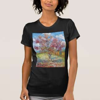 Van Gogh - árboles de melocotón rosados Camiseta