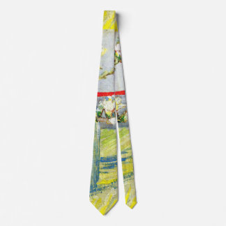 Van Gogh Art, Blossoming Almond Branch in a Glass Tie