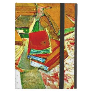 Van Gogh art: Still Life - French Novels Cover For iPad Air