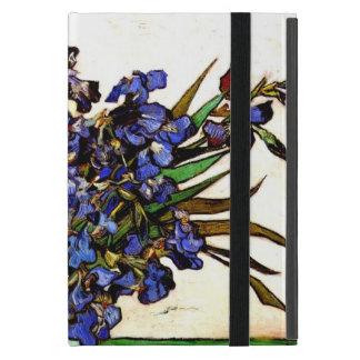 Van Gogh art: Vase with Irises iPad Mini Case